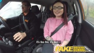Fake Driving School – 19yo Teen Creampie Lesson