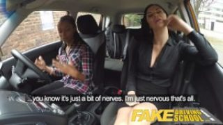 Fake Driving School – Ebony Girl Fails On Her Test