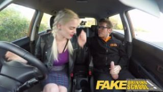 Fake Driving School She Gave Her Pussy To Pass In The Exam
