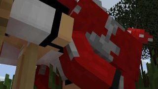 Minecraft cum in belly [Sebie X Mooshroom]