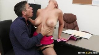 Big Tits At Work – Big-boobed office executive Abbey Brooks fucks her new employee