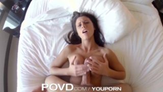 POVD – Titty fuck in bath leads to soapy suck and fuck