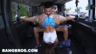 BANGBROS – Big Booty Latina Kelsi Monroe?s Reverse Bang Bus Part 3