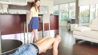 SisLovesMe – Angelic Step-Sis is A Horny Slut