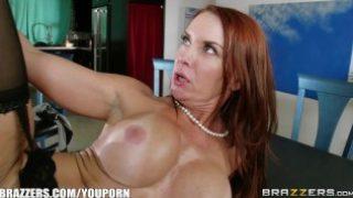Janet Manson fucks her stepson – Brazzers