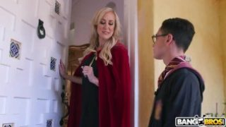 BANGBROS – Halloween Threesome with MILF Brandi Love and Teen Kenzie Reeves