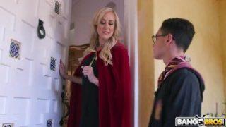 BANGBROS – Halloween Threesome with MILF Brandi Love and Teen Kenzie Reeves