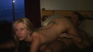 crazy party babe fucks cock