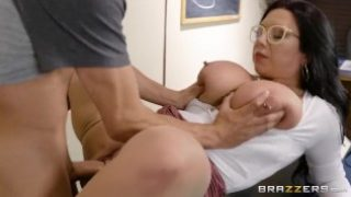 Fucking A Thick Milf In The Library – Brazzers