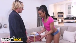BANGBROS – Brown Bunnies Anal Scene Featuring Kira Noir and Tyler Nixon With His Dick In A Box