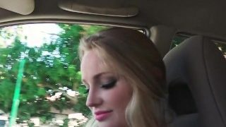 StrandedTeens – Sexy blond gives some roadhead