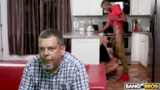 BANGBROS – Brandi Bae Loves Her Father's Older Black Friends
