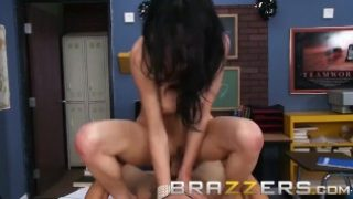 BRAZZERS – Professor of Persuasions Veronica Avluv rides and deepthroats her students