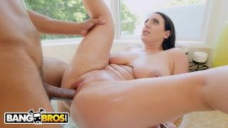 BANGBROS – Wifey Angela White Cheats On Husband With The Black Plumber