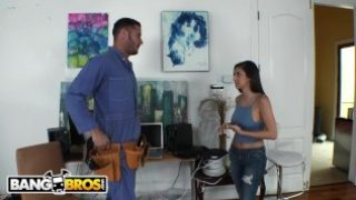 BANGBROS – Nina North Fucks Danny Mountain For A Better Cable Package