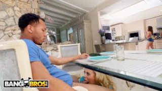 BANGBROS – Stepmom Cherie Deville Fucks Riley Reid's Black Boyfriend
