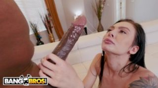 BANGBROS – The Insatiable Marley Brinx Gets Wrecked By Mandingo And His Big Black Dick