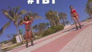BANGBROS – Throwback Thursday: RollerBlade Booty with Naomi and Sabara