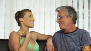 Daddy 4k – BF was out of house so slut decided to have fun with daddy