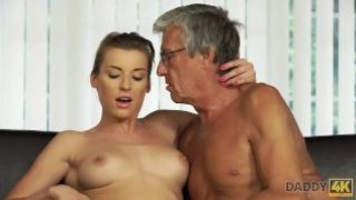 Daddy 4K – Relaxed chick is in mood for encounter with handsome old dad