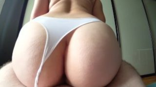 My tight pussy made him cum quickly