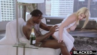 Blacked – 18 years old blonde with massive ass is black cock ONLY