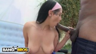 BANGBROS – Pretty PAWG Getting Her Pussy Stuffed With BBC