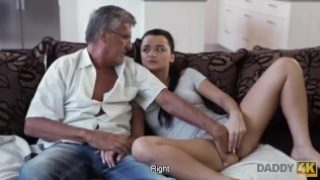 Daddy4k – man satisfied sexual needs of his sons girlfriend
